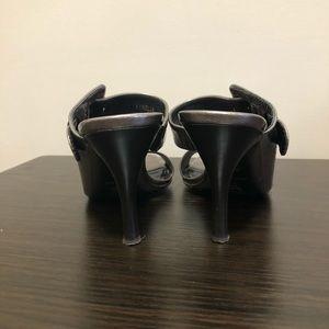Donald J. Pliner Shoes - Donald J Pliner Nelia Metalic Buckle Heels